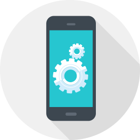 mobile app development vector art