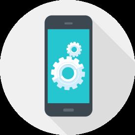 mobile app development vector art